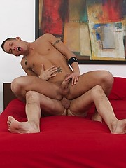 Jake fucks young sexy stud