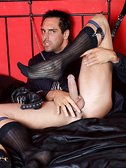 Marcello loves his sweaty feet so much that he has to masturbate