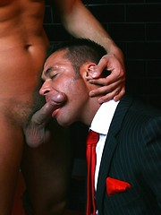 Hard dick in tight hunky backhole