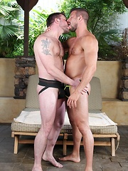 Hunky daddies love to fuck each other holes