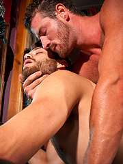 Rusty Stevens likes rough sex, and Tommy Defendi is happy to fulfill his needs