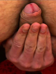 European student stroking cock until he load all cum on own chest