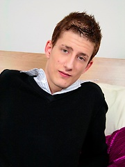 Urban Brit Jamie is a sexy and horny twink