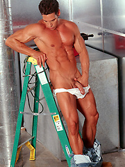 Sexy repairman does more than fix the AC