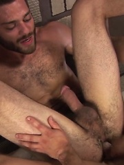 Two gays have nice sucking, rimming and fucking