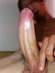 Palo shows his fat uncut cock