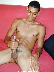 Beneto is a hot 19 year old with huge uncut cock