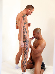 Sexy Frenchman just loves huge, uncut dicks, the bigger the better