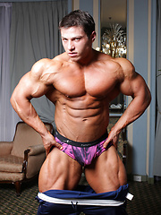Handsome 20-year old muscle boy Boris Makov