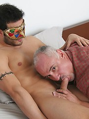 Mystery guy drills older Jake`s hole