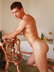 Perfect jock Jean-Daniel shows his strong young body