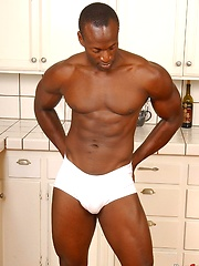 Black muscleman stripping