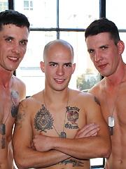 Richard Buldger, Jacob Stax and Michael Stax