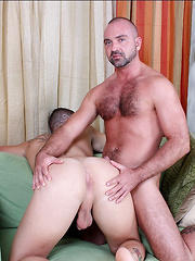 Hot hung daddy Josh West and  young stud Kevin Cavaliie