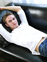 Sex is always a part of sexy blonde boy Ethan Rose