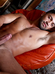 Drew and Christian both work over Dominics hole and double-penetrating him
