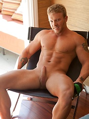 Toby is one hot blonde muscle stud