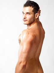 Adi Hadad is a 25 year old adorable stud with a great body and and a hot ass with a deliciously fur rimmed hole