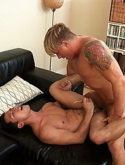 Philip dives in spanish anal with his thick dick