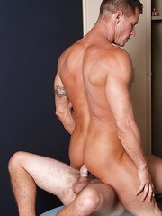 AJ Monroe and Rock run into each other in the gym locker room