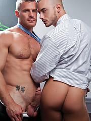 Landon Conrad shows Jessie Colter who is boss