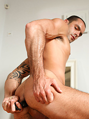 Massage turns in hard anal sex between Dominic and Isaac