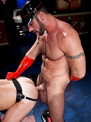 Lethare master Spencer Reed fucks his gay slave Ben Brown