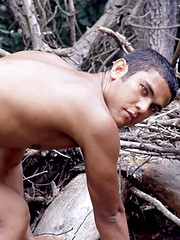 This fine Latino is showing off what you are craving for