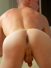 Young, masculine Sean is a 19 years old twink with smooth toned body, a good-sized johnson, bubble bottom
