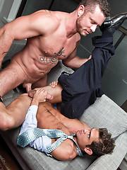 Charlie Harding Reprimands His Assistant Luke Milan