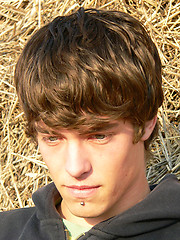 Amateur european boy Etienne