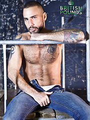 Jonathan Agassi takes every inch of Paddy O Brian