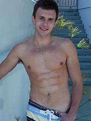 Randall is the tall, lean, cute, bashful type