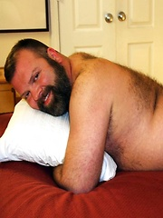 Sexy bear Kroy Bama brings it in his first photo shoot for Bear Films