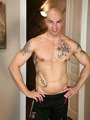 Two hot tattoed studs Duda and Rodrigo Calas