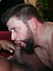 Leon Ryder and Randy Scott warm up the room with steamy ass fucking
