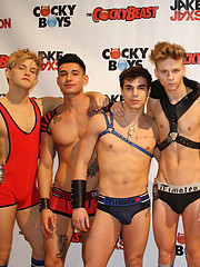 CockyBoys Takes Over THE BLACK PARTY EXPO