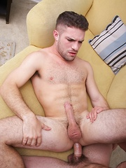 Cuban hottie Angel Rock and joining him is handsome Adam Wirthmore