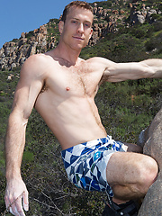 Gregg is a 30-year-old straight guy who is really into mountain climbing