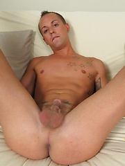 Brody sits back on the futon and we give you AND Chase a peek at that juicy hole