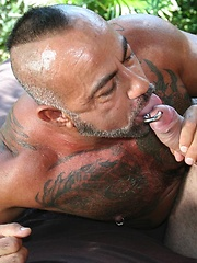 Horny beast Bo Bangor stretches his thick dick Lex Antoine cherry ass