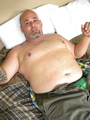 We catch Joe lounging in his room