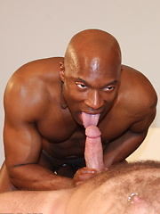 Fantastic interracial gay scene