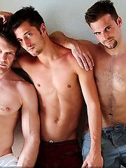 Gabriel Clark, Colby Keller, and JD Phoenix