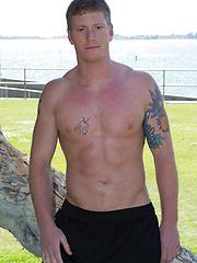 Athletic jock David