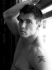 Anton Rivera He has the piercing eyes, a perfectly chiseled jaw line and muscles for days