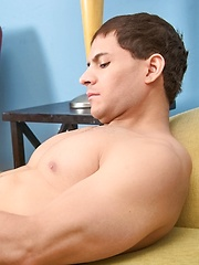 Nico Diaz strokes his fat cock