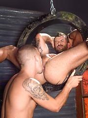 Two boys having hardcore butt pounding fun!