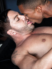 Exclusive Sean Xavier's Big Black Cock Rips Apart Dominic Pacifico