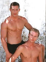Italian exclusive Matthias Vannelli and super-twink Matt VanDorn